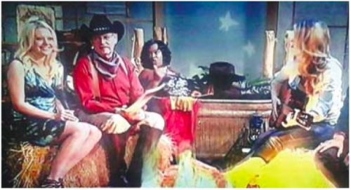"RON GANN, Debra Duncan, and the old ""Saturday nite tub"" on TV."