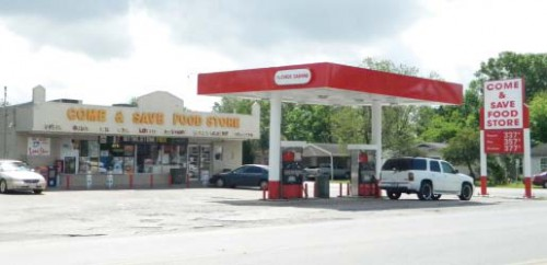 The burglary was at this convenience store on Mercury Drive.