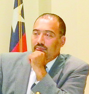 JUAN FLORES JR WON ELECTION FOR COUNCIL SEAT #4.