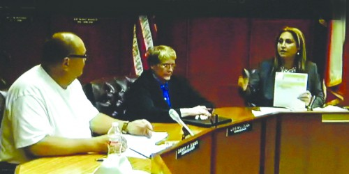 Mayor Moya confronts Councilman Simms regarding his insurance paid for by the city