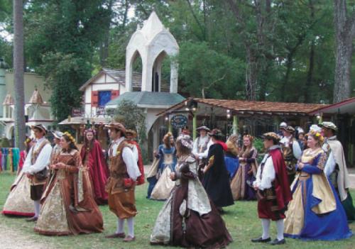Renaissance Festival last year participants.