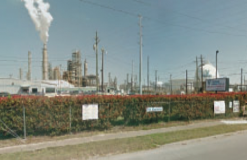 VALERO REFINERY in the Manchester neighborhood of the City of Houston.