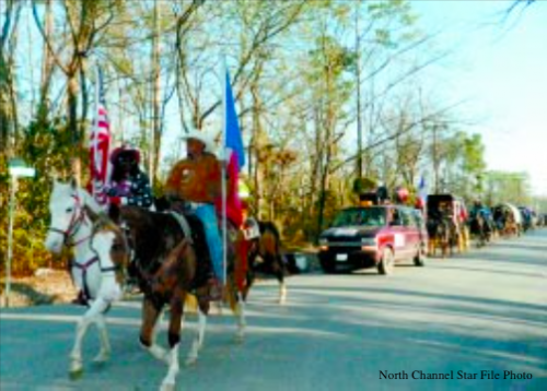 The Northeastern Trail Ride, under the direction of Trail Boss Anthony Bruno, rode through Crosby and North Shore on the way to Memorial Park and the Houston Rodeo