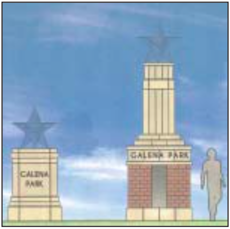 PRELIMINARY DESIGN STUDIES for the Monument. (Art Courtesy Knudson, LP)