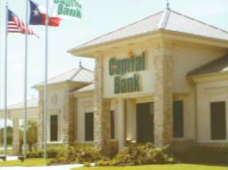 CAPITAL BANK'S main office is on I-10 East in Jacinto City, with branches in Pearland, Pasadena, Deer Park, and Baytown.