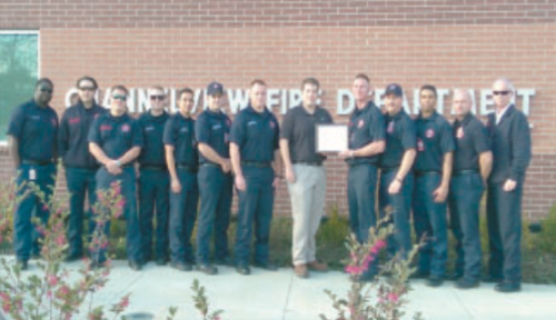 Firefighters with the Channelview Fire Department received a more than $4,000 grant for fire prevention. The grant will be used for education in the community on matters of fire safety, and to reduce the number of fires.