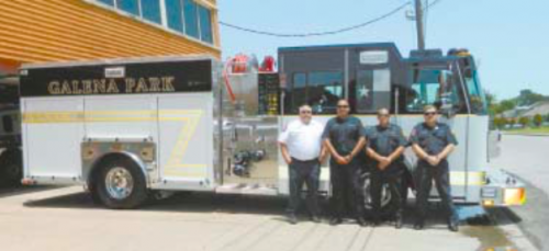 galena park new fire truck
