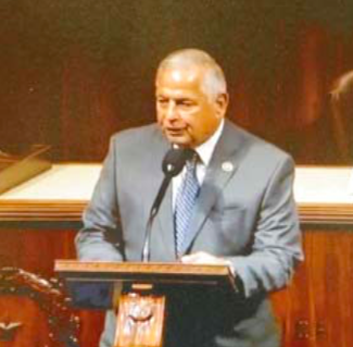 REP. GENE GREEN SPEAKS on the floor of the House of Representatives, urging Congressional action on the ZIKA virus, and the removal of the Waste Pits from the San Jacinto River.