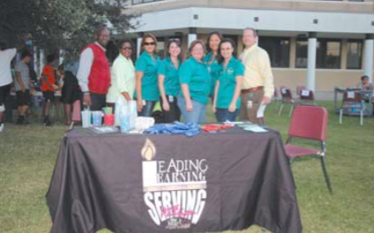 Galena Park ISD at National Night Out.