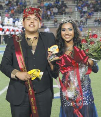 Miguel Chavez and Denise Villafranco North Shore 2016 Homecoming King and Queen.